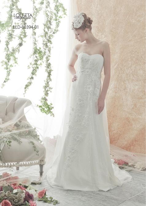 [DRESS-1820] - レンタル衣装 - 貸し衣装 - ウエディングドレス | Total Beauty 221(トータルビューティー221 - 仙台のブライダルサロン)