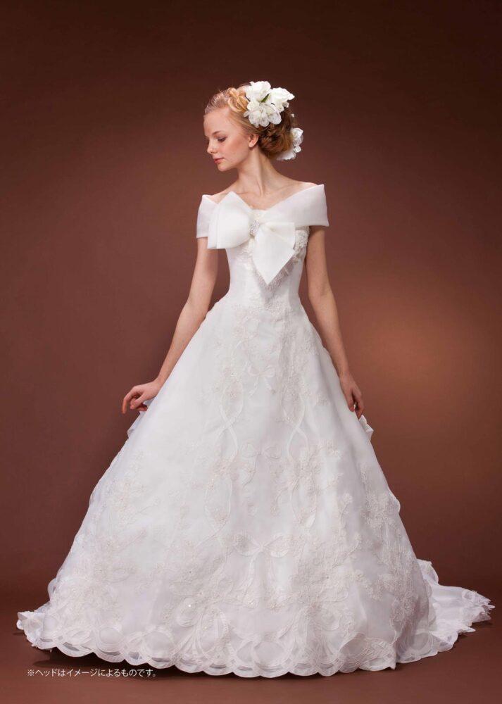 [DRESS-1823] - レンタル衣装 - 貸し衣装 - ウエディングドレス | Total Beauty 221(トータルビューティー221 - 仙台のブライダルサロン)