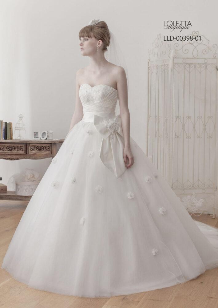 [DRESS-1818] - レンタル衣装 - 貸し衣装 - ウエディングドレス | Total Beauty 221(トータルビューティー221 - 仙台のブライダルサロン)