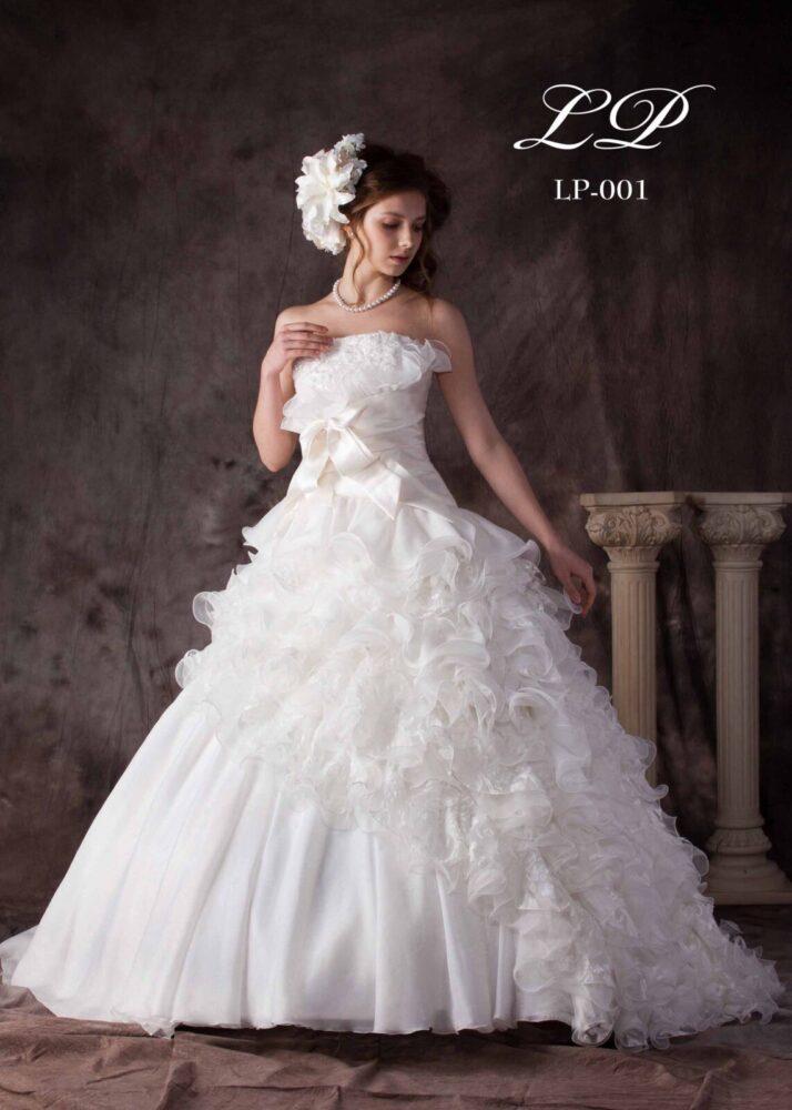 [DRESS-1827] - レンタル衣装 - 貸し衣装 - ウエディングドレス | Total Beauty 221(トータルビューティー221 - 仙台のブライダルサロン)